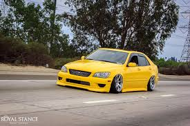 lexus altezza is200 photo tuning toyota altezza lexus is200 is300 yellow cars