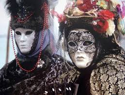 Venetian Halloween Costumes Venice Carnival Masks Eyes Wide Shut Movie Cult Gathering