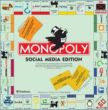 Monopoly Map Monopoly Social Media Edition Source Www Flowtown Com B U2026 Flickr