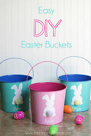 painted easter buckets 21 easter basket ideas easter gifts for kids and