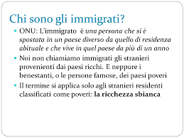 si e onu chi sono gli immigrati onu l immigrato è una persona che si è