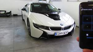 bmw i8 key bmw i8 remote app by component ltd youtube
