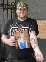tattoo portraits on arm see fans u0027 most brilliant and bizarre tattoos of their idols u0027 faces