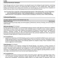 Best Project Manager Resume by 10 Project Manager Resume Templates Free Pdf Word Samples