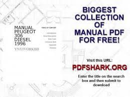 manual peugeot 306 diesel 1996 youtube