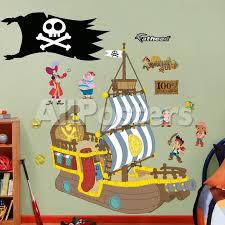jake u0026 neverland pirates bucky pirate ship wall decal sticker