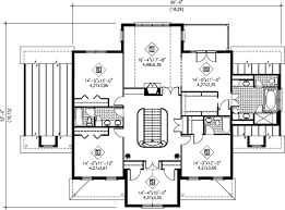 grand staircase floor plans european style house plan 5 beds 3 50 baths 4175 sq ft plan 25 297