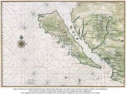 San Felipe Mexico Map by Island Of California Map Old Cabo