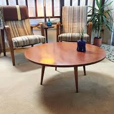 Mid Century Modern Round Coffee Table Found Paul Mccobb Round Coffee Table My Antique Furniture
