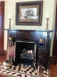 fireplace parlor