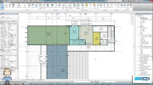 Color Floor Plan From Autocad To Revit Creating Color Schemed Floor Plan Views In