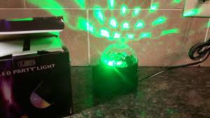 supertech led magic ball light instructions kingso disco ball led light effects youtube