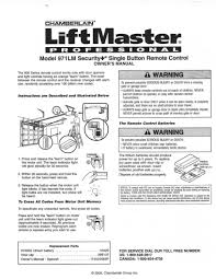 remote garage door openers liftmaster remotes instructions 971lm liftmaster remote