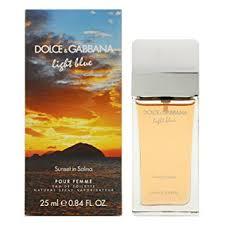 light blue perfume sale dolce gabbana light blue sunset in salina edt spray 25 ml amazon