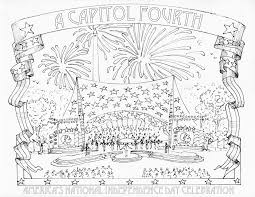 4th of july coloring pages for adults eson me
