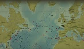 World War 2 Interactive Map by World War Ii Battle Of The Atlantic Online Interactive Now