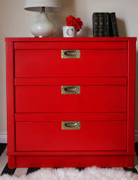 holiday red campaign nightstand general finishes design center
