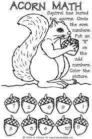 6 best images of fall preschool math printables preschool math
