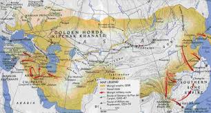 Silk Road Map Exciting Journey Through The Silk Road The Mongols