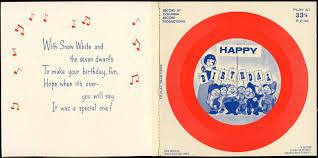 image 1964 birthday card record2 jpg disney wiki fandom