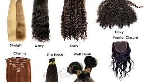 different types of hair extensions hair extensions onyc world