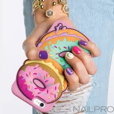 summer selfies nail art inspired by cute phone cases