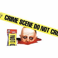 Crime Scene Bathroom Decor Do Not Cross Crime Scene Tape Halloween Decoration Walmart Com
