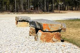 Natural Stone Benches Natural Stone And Landscaping Products Valemount Stone Company Bc