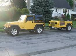jeep wrangler cargo trailer 10 coolest travel trailers travel trailers oddee