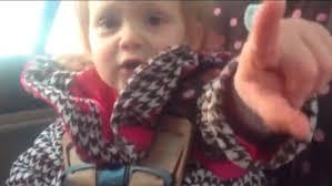 Meme Girl Car Seat - distraction little girl has it handled cnn video