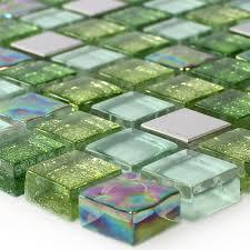 Design Mobel Kunstlerische Optik Sicis Glasmosaik Fliesen Mischung Glas Mosaik Sicis Blends Garden