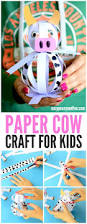 easy paper cow craft farm animal craft ideas easy peasy and fun