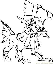 Coloring Pages Pokemon Sun And Moon   pokémon sun and moon coloring pages