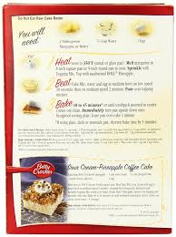 amazon com betty crocker cake mix pineapple upside down 21 5 oz