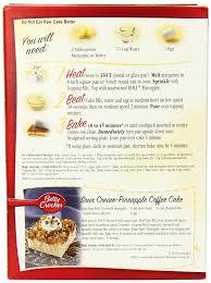 amazon com betty crocker cake mix pineapple upside down 21 5 oz