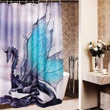 Custom Bathroom Shower Curtains New Custom New Waterproof Polyester Fiber Bathroom Shower