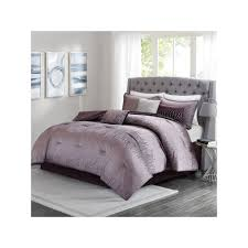 Madison Park Laurel Comforter Madison Park 7 Piece Modern Lights Comforter Set Drk Purple