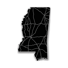 Mississippi State Map Mississippi Acrylic Cutout State Map Modern Crowd Touch Of