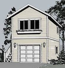 2 story garage plans with apartments 2 story single garage plan house pinterest garage plans