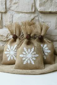 burlap crafts cute snowflake design for christmas u2026 pinteres u2026