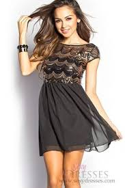 Black Homecoming Dresses With Sleeves Dress Tight Black Dress With Lace Sleeves Homecoming Dresses