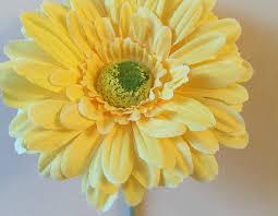 Vw Beetle Flower Vase Short Stemmed 13cm Gerbera Flower Ideal For Vw Beetle Vase