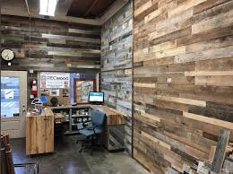 reclaimed wood accent wall wood from recwood planks in true american grain reclaimed wood