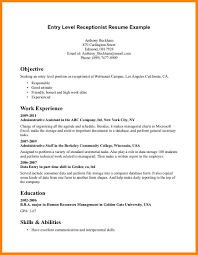 entry level it resume 6 entry level it resume exles offecial letter