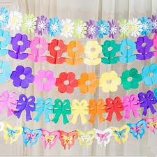 tissue paper decorations wedding party medallion background decorations sunflower garland diy