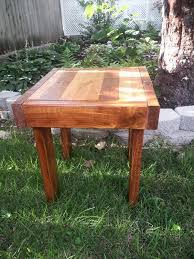 Diy Reclaimed Wood Side Table by Diy Reclaimed Wood Sofa Table Pallet Furniture Plans