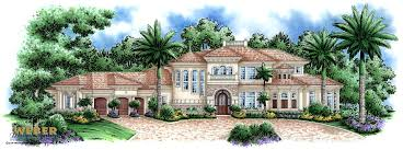 Mediterranean Style House Plans by Tuscan House Plans Luxury Home Plans Old World Mediterranean Style