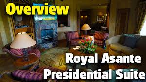 royal asante presidential suite animal kingdom lodge youtube