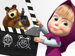 kidscreen masha bear