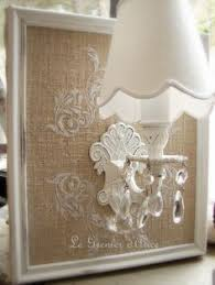 Shabby Chic Wall Sconce by Reserve Applique Bougeoir Mural Lin Et Blanc Colombe Style